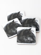 Don't Wake Resting Wolves Coasters