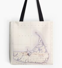 Massachusetts  USGS Historical Topo Map MA Nantucket 352877 1901 62500 Tote Bag