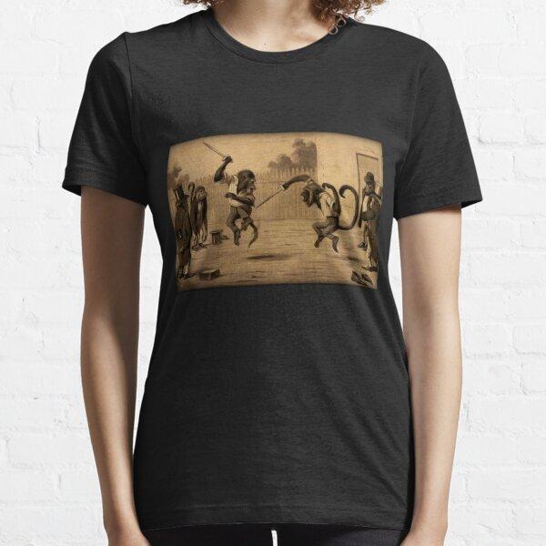 Monkey Knife Fight Essential T-Shirt