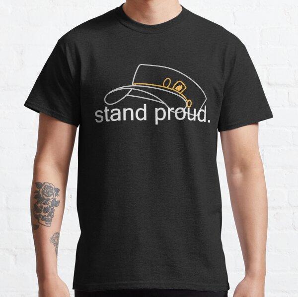 mantente orgulloso, cruzado de polvo de estrellas. Camiseta clásica