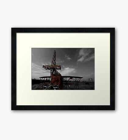 Fire Plane Framed Print