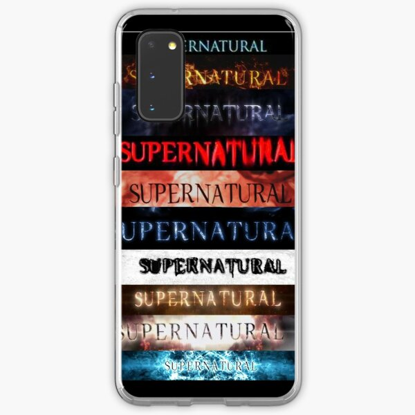 Supernatural intro seasons 1-10 Samsung Galaxy Soft Case