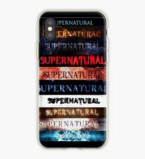 Supernatural intro seasons 1-10 iPhone Case