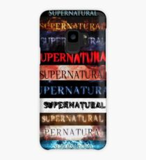 Supernatural intro seasons 1-10 Case/Skin for Samsung Galaxy