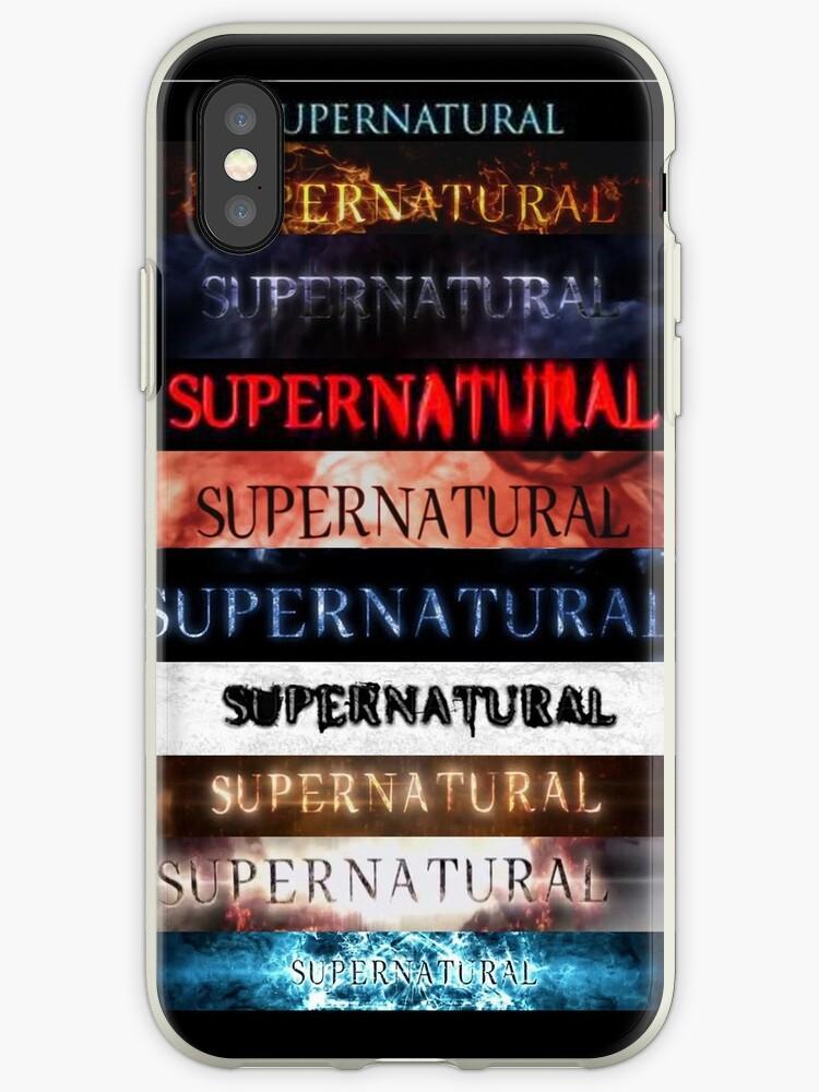 coque iphone xr supernatural