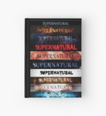 Supernatural intro seasons 1-10 Hardcover Journal