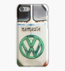 VW Bus - Namaste iPhone Case/Skin