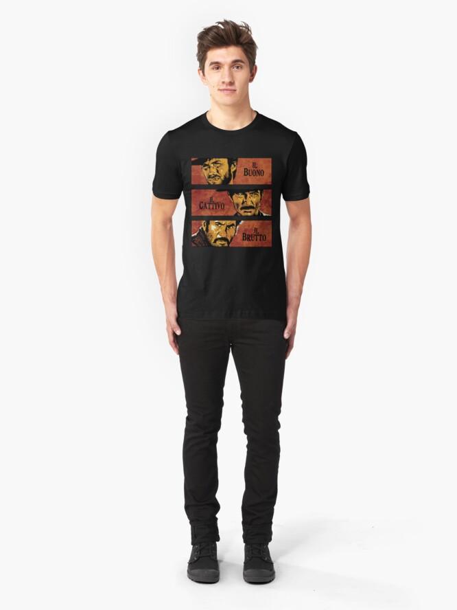 Alternative Ansicht von Der gute der böse und der Hässliche Slim Fit T-Shirt