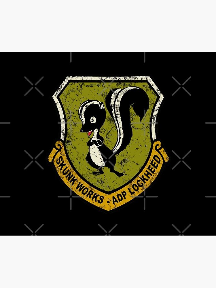 Lockheed Martin Skunk Works vintage logo by DudePal