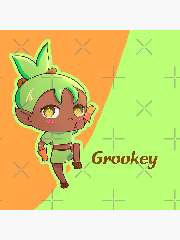 Grookey Pokemon Sword And Shield Starter Pokemon Chibi Gijinka Greeting Card By Ellione Loire Redbubble I do not own any clips and any part of the music. redbubble