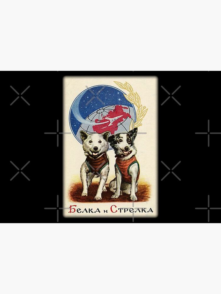 Belka and Strelka Space Dogs by DudePal