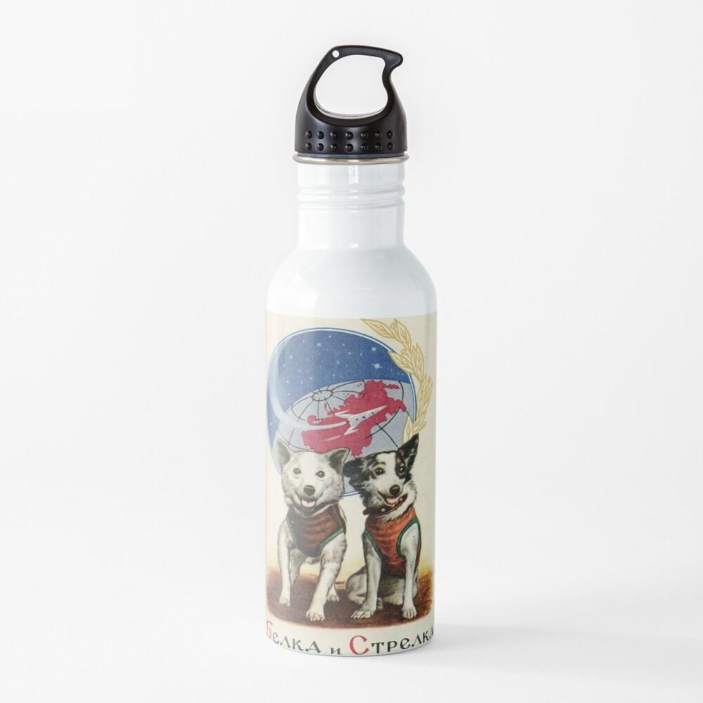 Belka and Strelka Space Dogs Water Bottle
