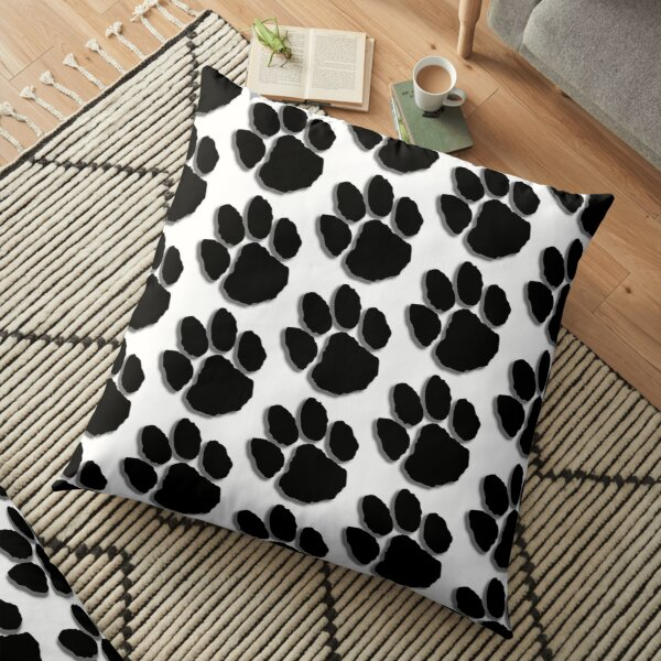 Paw Print  Floor Pillow