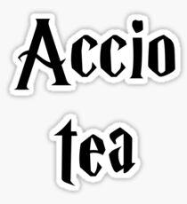 Accio Tea Sticker
