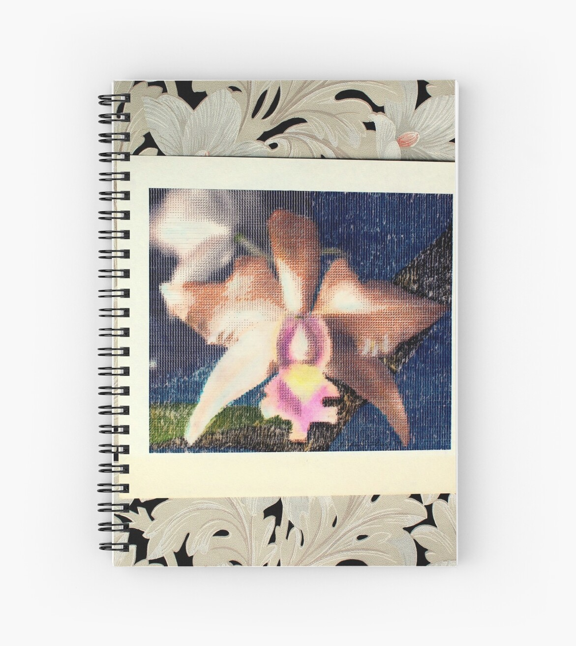 Not Your Usual Corsage Cattleya Spiral Notebook By Michael May