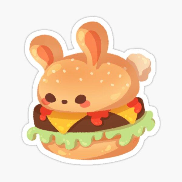 Burger Bun Sticker