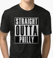 Straight Outta Philly Tri-blend T-Shirt