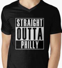 Straight Outta Philly Men's V-Neck T-Shirt