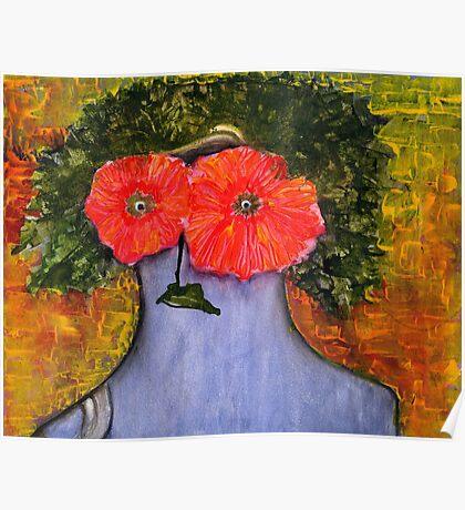 flower woman! Poster