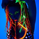 Cheri in UV by Larry Varley
