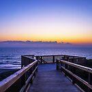 Moore River Boardwalk at Sunset - Western Australia by coastal-west