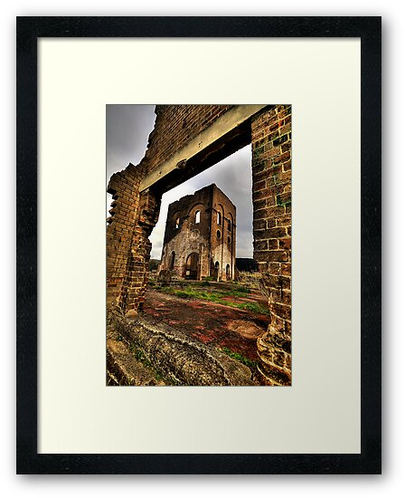 Framed In Time - Blast Furnace Park -, Lithgow NSW Australia - The HDR Experience by Philip Johnson