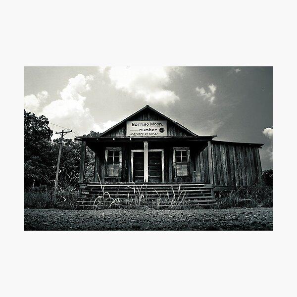"""Borneo Moon"" Tunica County, Mississippi Photographic Print"