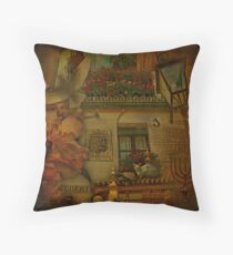Juderia in Seville. Throw Pillow