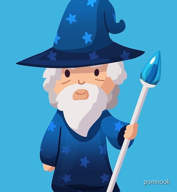 Cute Little Wizard by pomnook