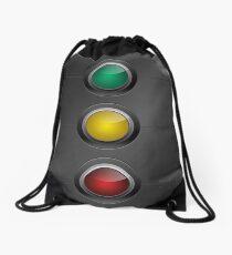 Traffic Lights Drawstring Bag