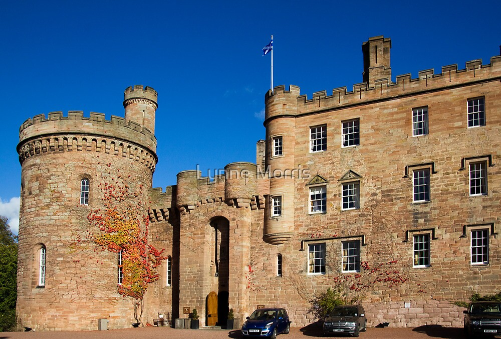 Dalhousie Castle by Lynne Morris