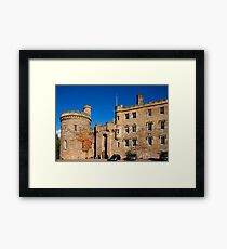 Dalhousie Castle Framed Print