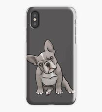 Grey Frenchie iPhone Case/Skin