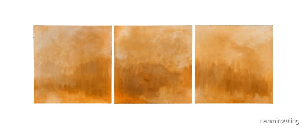 Lake Triptych by naomirowling
