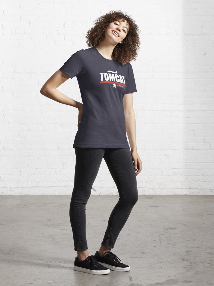 Alternate view of F-14 Tomcat Essential T-Shirt