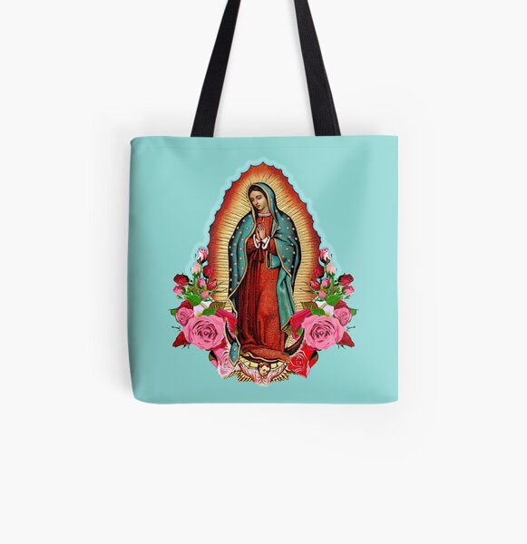 Our Lady of Guadalupe All Over Print Tote Bag