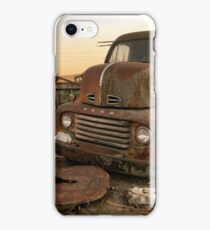 Rusty ol' farm truck  iPhone Case/Skin
