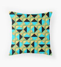 Algorithmic geometric art Floor Pillow