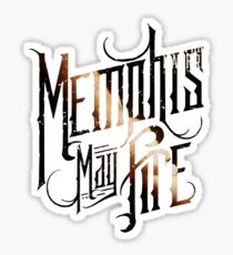 """Memphis May Fire """"Unconditional"""" Logo Sticker"""