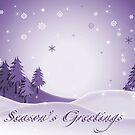 Season's Greetings - Lavender by ChiaraLily