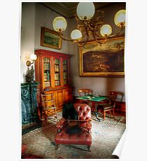 The Library at Werribee Mansion Poster