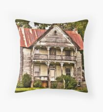 """ This is no Prefab Structure, Built the Old Fashioned Way""... prints and products Throw Pillow"