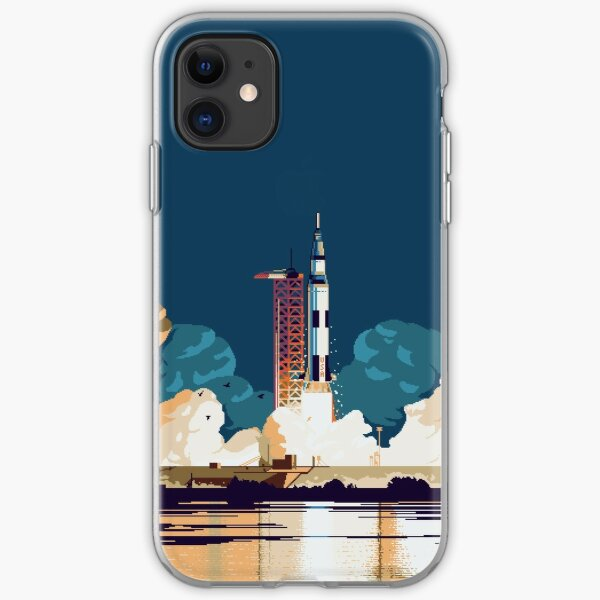 Apollo 11 Launch iPhone Soft Case