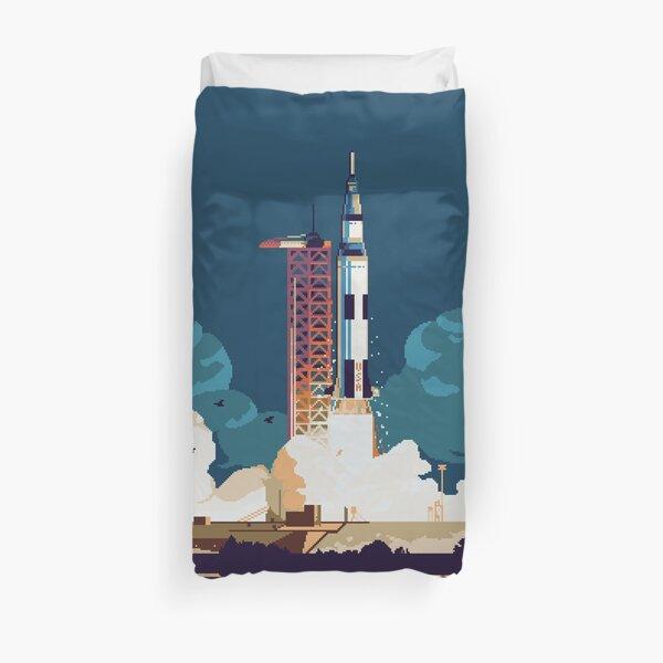 Apollo 11 Launch Duvet Cover