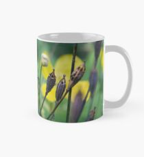 slug dancing on a poppy Classic Mug