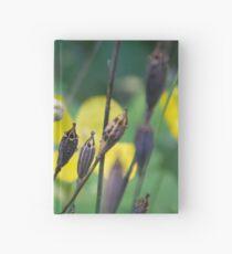 slug dancing on a poppy Hardcover Journal