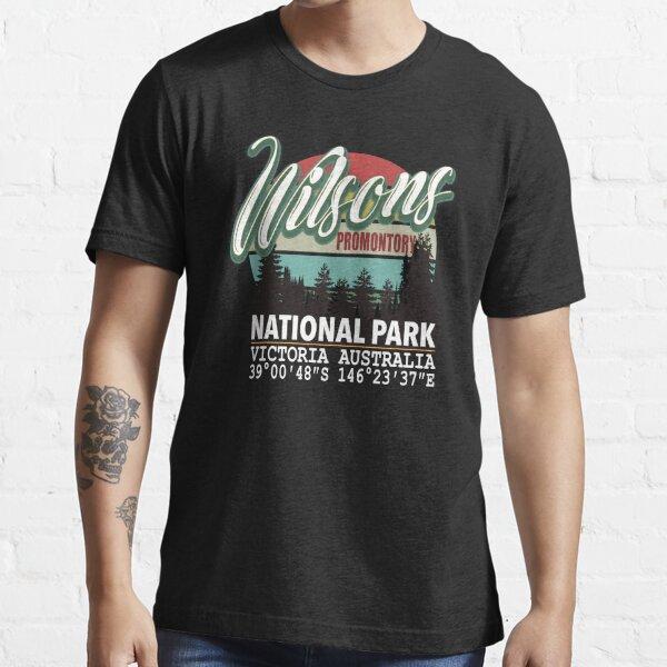 Wilsons Promontory National Park with GPS Location Tasmania Australia Essential T-Shirt