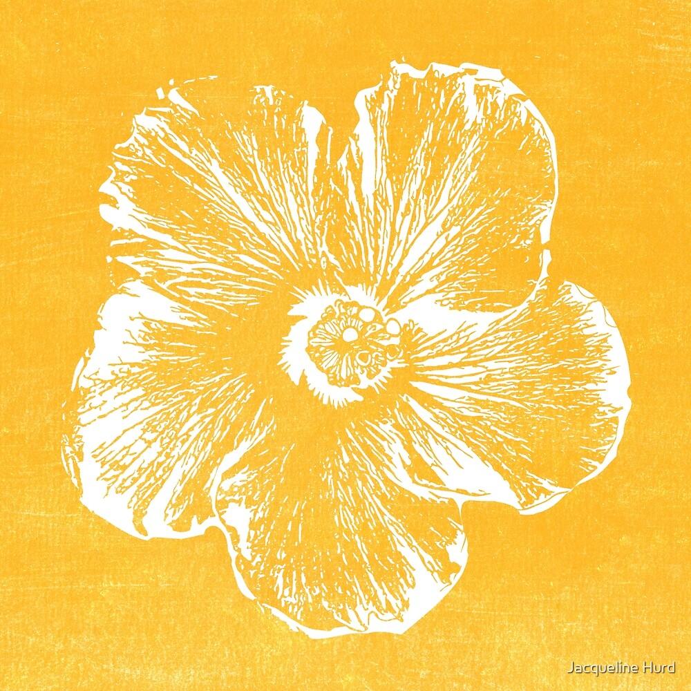 Sunny Hibiscus von Jacqueline Hurd