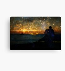 letters to god  Canvas Print