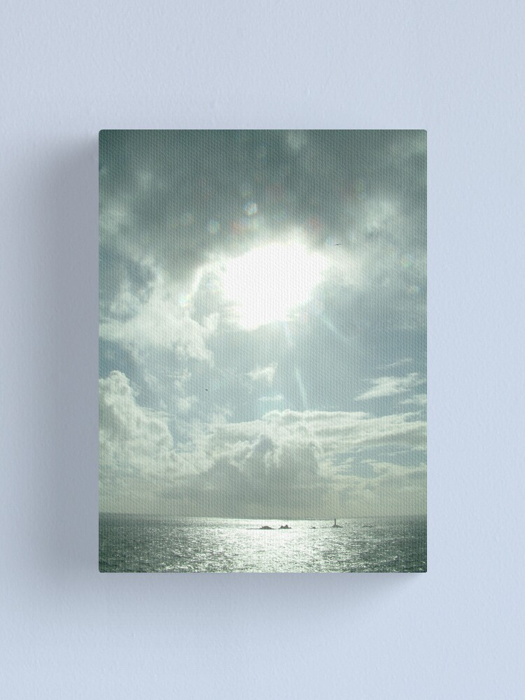 Alternate view of I saw the light Canvas Print